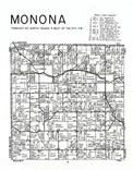 Monona Township, Clayton County 1966